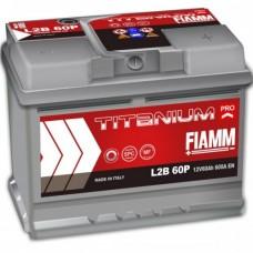 FIAMM 6СТ-60 АзЕ Titanium Pro (L2B 60P)