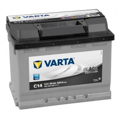 VARTA Black Dynamic 56Ah (C14) R (556 400 048)
