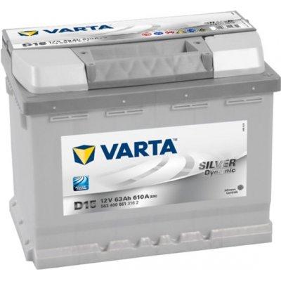 VARTA Silver Dynamic 63Ah (D15) R (563 400 061)