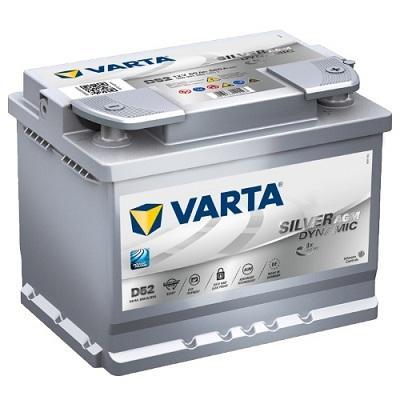 VARTA Silver Dynamic AGM 60Ah (D52) R (560 901 068)