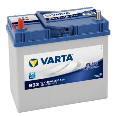 VARTA Blue Dynamic 45Ah Asia tonkaya klemma (B33) L (545 157 033)
