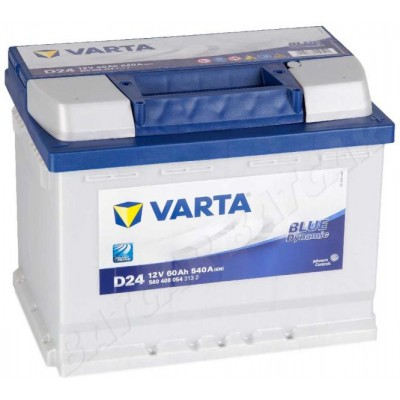 VARTA Blue Dynamic 60Ah (D24) R (560 408 054)