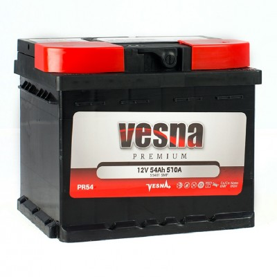Vesna 6СТ-54 АзЕ Premium (55401 SMF)